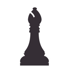 Chess piece bishop vector
