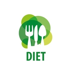 Logo for diet vector