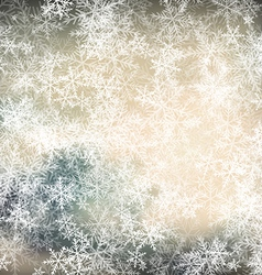 Christmas frost background vector