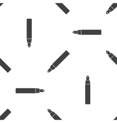 Ink pen pattern vector