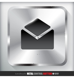 Metal contact button vector