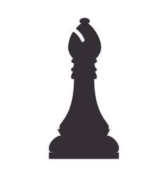 chess piece bishop vector image