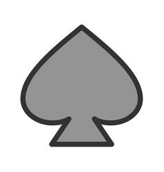 spade vector image vector image