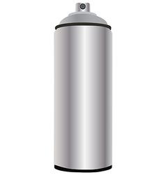 Spray bottle aluminum vector