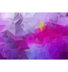 Violet abstract background consisting of angular vector