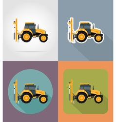Transport flat icons 35 vector