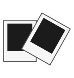 Instant photos icon vector