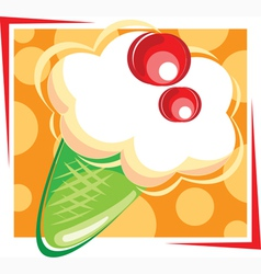 Ice creme vector image