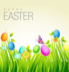 Colorful easter design vector