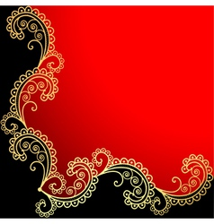 background with the frame vector image