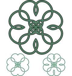 Four Leaf Clover vector image vector image