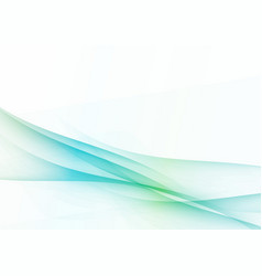 Light abstract fresh spring wind waves vector