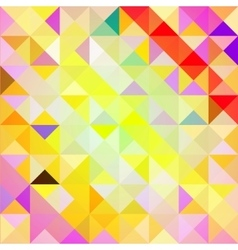 Pattern of geometric shapes TrianglesTexture vector image