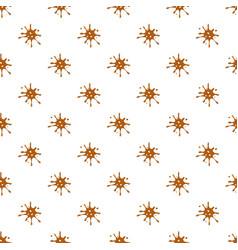 Spot of brown caramel pattern vector