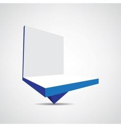 billboard icon vector image