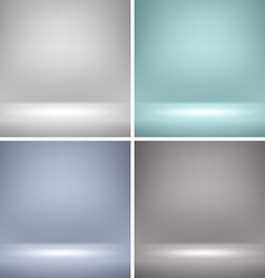 Empty Stage Backgrounds vector image