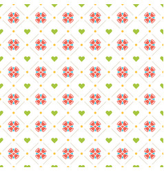Happy birthday seamless pattern design vector