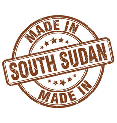 Made in south sudan vector