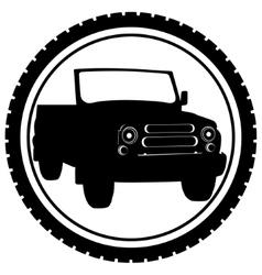 Passenger car-1 vector image vector image