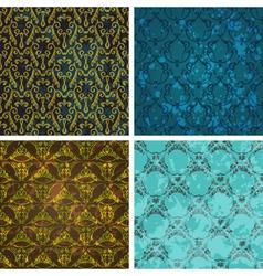 retro style wallpaper vector image vector image