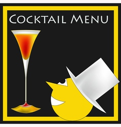 Vintage Cocktails vector image