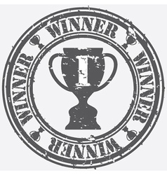 Winner Stamp vector image