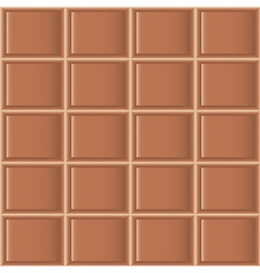 Chocolate tiles seamless texture vector