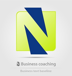 Business coaching business icon vector