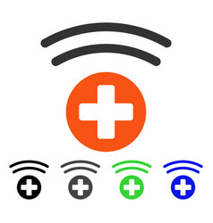 Medical source flat icon vector