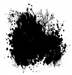 nature grunge vector image vector image