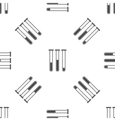 Test-tubes pattern vector