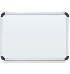 white board vector image