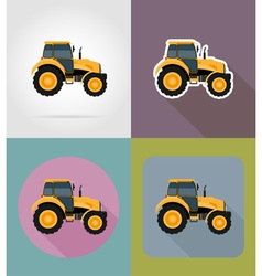 Transport flat icons 36 vector