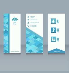 brochure design template brochure design template vector image