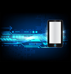 Abstract background phone digital technology for vector