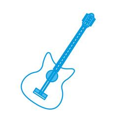 Eletric guitar instrument vector