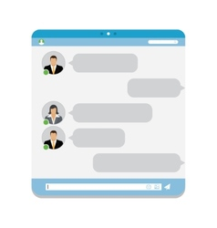 Group Chat vector image