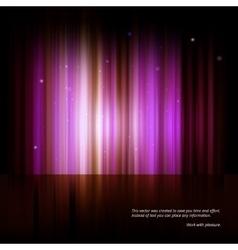 Northern lights aurora polaris vector