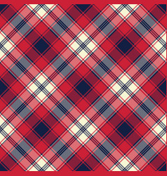 Fabric texture check plaid seamless pattern vector