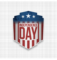 American independence day celebration background vector