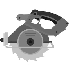 Wood cutter vector