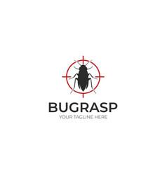 Pest control logo template vector