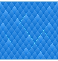 Squared Blue Seamless Pattern vector image