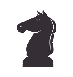 chess piece knight vector image