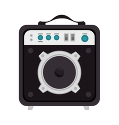 Speaker sound bass vector