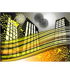 Traffic vector image