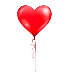 Heart balloon vector
