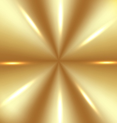 Golden background with lights vector