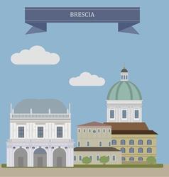 Brescia vector image