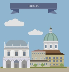Brescia vector image vector image